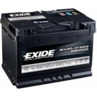 Exide ECM 12V 60Ah 540A EL600