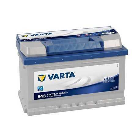 VARTA BLUE 12V/72Ah P (E43)