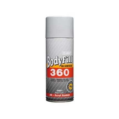 BODY Spray Fill 360 400 ml /čierna/