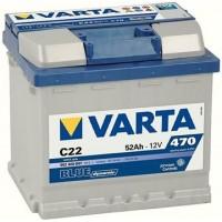 VARTA BLUE 12V/52Ah 470A (C22)