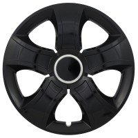 Puklica 16 BIS RING BLACK 4ks