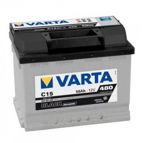 VARTA BLACK 12V/56Ah L (C15)