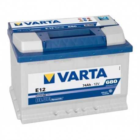 VARTA BLUE 12V/74Ah L (E12)