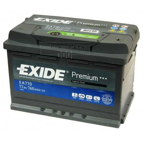 EXIDE premium 12V/77Ah (EA770)
