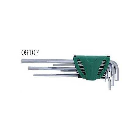 Sada imbusových kľúčov 9 diel. predĺžených SATA 9107