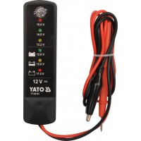 Tester batérií a alternátorov 12V YATO