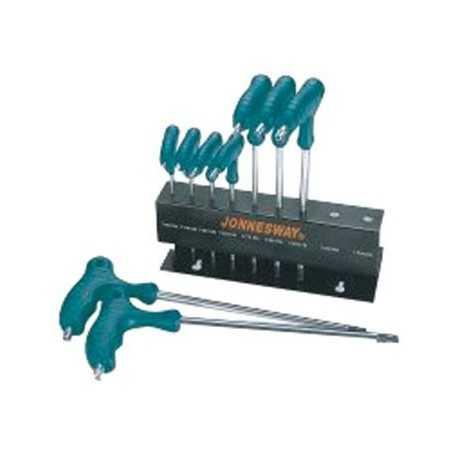 Sada kľúčov TORX / TRX 9.diel. PVC JONNESWAY H10MT09S