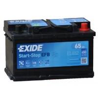 Exide Start-Stop EFB 12V 65Ah 650A EL652