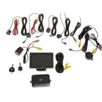 Parkovací asistent zadní - zvuková signalizace + parkovací kamera