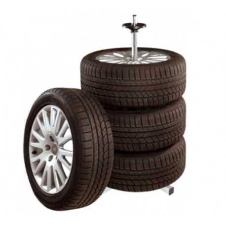 Stojan na pneumatiky - kolesá