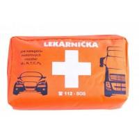 Lekárnička pre osobnú a nákladnú dopravu - textilný obal