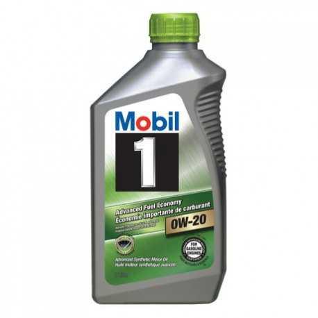 Motorový olej Mobil 1 0W-20 1L