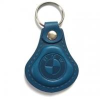 Kožená kľúčenka / prívesok na kľúče BMW modrá