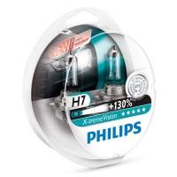 Žiarovky 12V H7 Philips X-trem Vision + 100%2ks