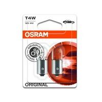 OSRAM ORIGINAL T4W, 12V, 4W 1pár