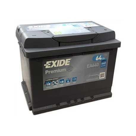 EXIDE premium 12V/64Ah (EA640)