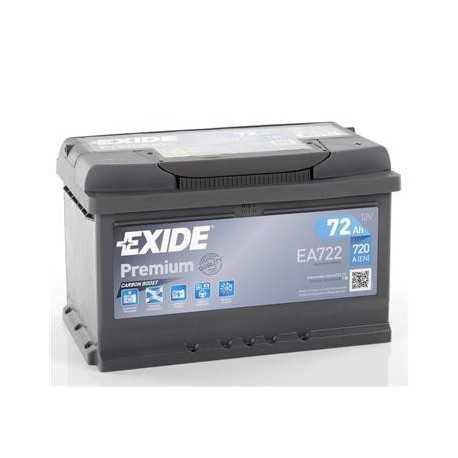 EXIDE premium 12V/72Ah (EA722)