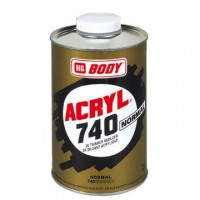 HB BODY 740 akrylové riedidlo normal 500ml