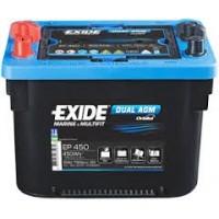 Exide Dual AGM 12V 50Ah 750A EP450