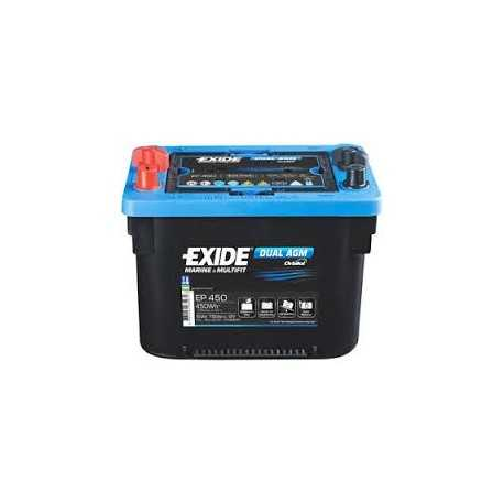 EXIDE maxxima dual AGM 12V/50Ah trakčná /modrá/ EP450