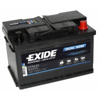 Exide Dual AGM 12V 70Ah 760A EP600