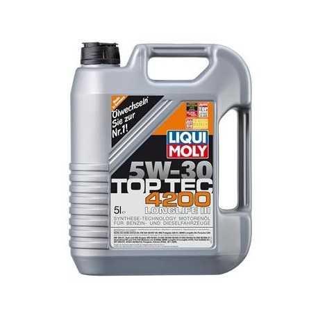 Liqui Moly 3707 Motorový olej TopTec 4200 LL III 5W-30 5L