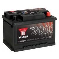 Yuasa YBX3000 12V 60Ah 550A (YBX3075)