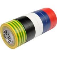 Izolačná páska 19 x 0,13 mm x 20 m farebná 10 ks YATO