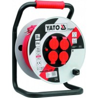 Predlžovací kábel bubnový 30m YATO