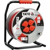 Predlžovací kábel bubnový 40m YATO