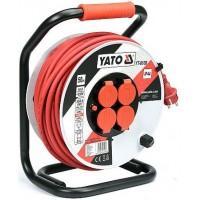 Predlžovací kábel bubnový 50m YATO